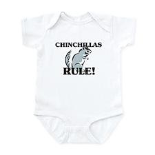 Chinchillas Rule! Onesie