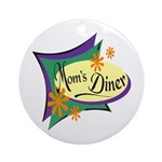 Mom's Diner Keepsake (Round)