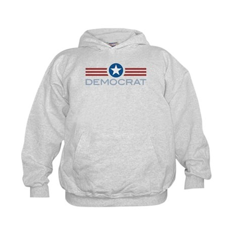 Star Stripes Democrat Kids Hoodie