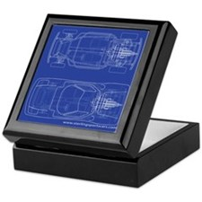 Sports Cars Keepsake Box