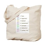 Tones of the Scale Tote Bag