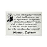 """Thomas Jefferson"" Magnet"