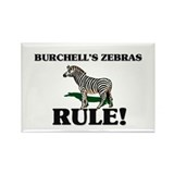 Burchell's Zebras Rule! Rectangle Magnet (10 pack)