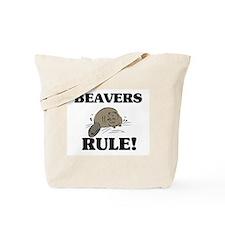 Beavers Rule! Tote Bag