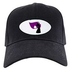 Plum Veil Dancer Baseball Hat