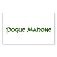 pogue mahone Rectangle Decal