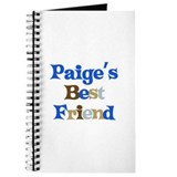 Paige's Best Friend Journal