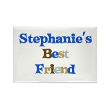 Stephanie's Best Friend Rectangle Magnet