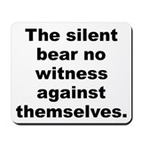 Aldous huxley quotation Mousepad