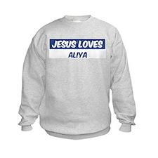 Jesus Loves Aliya Jumpers