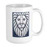 Aleph & Tav Lion Of Judah Mug