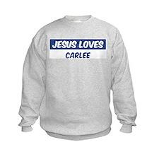 Jesus Loves Carlee Sweatshirt