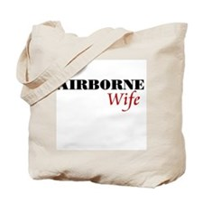 Airborne Wife Tote Bag
