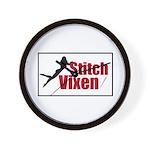 Stitch Vixen Wall Clock
