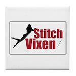 Stitch Vixen Tile Coaster