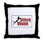 Stitch Vixen Throw Pillow