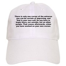 Aldous huxley quote Baseball Cap