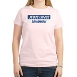 Jesus Loves Savannah T-Shirt