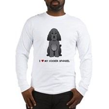 Black Cocker Spaniel Long Sleeve T-Shirt