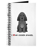 Black Cocker Spaniel Journal
