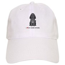 Black Cocker Spaniel Baseball Cap