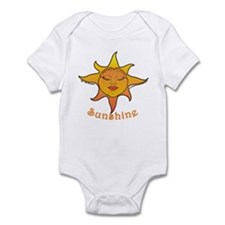 Cute Smiling Sun Infant Bodysuit
