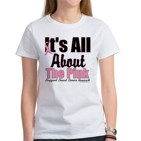 It's All About The Pink Women's T-Shirt