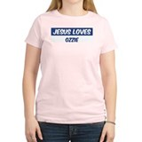 Jesus Loves Ozzie T-Shirt