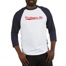 Vintage Washington.. (Red) Baseball Jersey