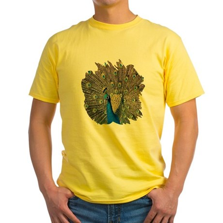 Peacock Yellow T-Shirt