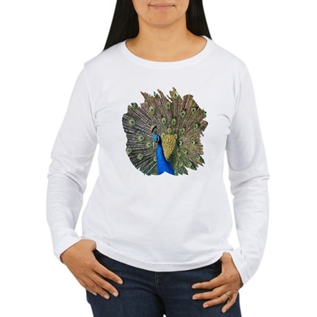 Peacock Women's Long Sleeve T-Shirt