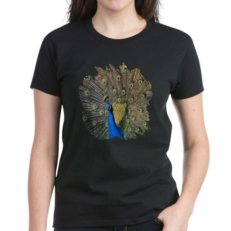 Peacock Women's Dark T-Shirt