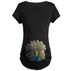 Peacock Maternity Dark T-Shirt