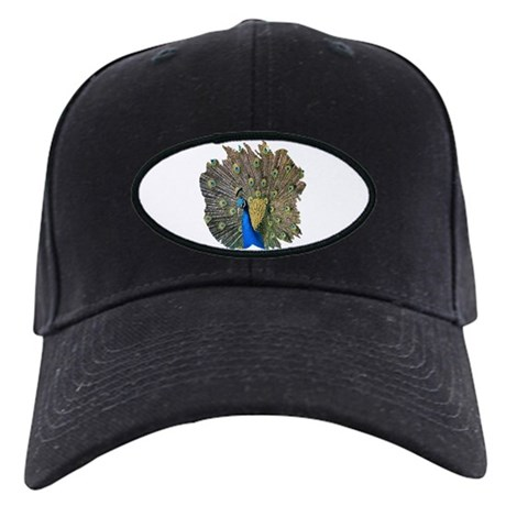 Peacock Black Cap