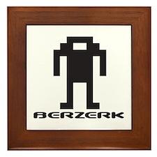 Framed Berzerk Tile