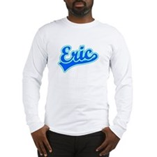 Retro Eric (Blue) Long Sleeve T-Shirt