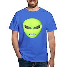 Mean Alien Face T-Shirt