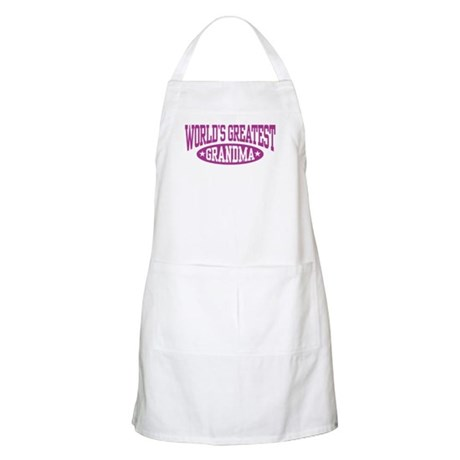 World's Greatest Grandma BBQ Apron