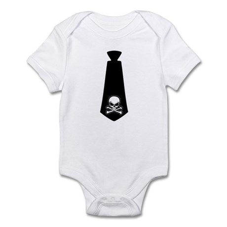 ROCK-TIE EVIL SKULL Infant Bodysuit