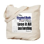 Diet Plan Tote Bag
