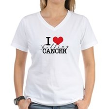 i heart killing cancer Shirt