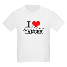 i heart killing cancer T-Shirt