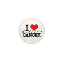 i heart killing cancer Mini Button (10 pack)