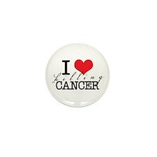 i heart killing cancer Mini Button (100 pack)