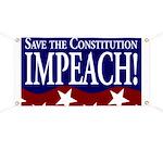 Impeach Bush ProConstitution Banner