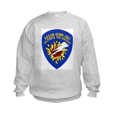 California Fire Marshal Kids Sweatshirt