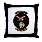 OD-4/DX Throw Pillow