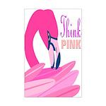 Think Pink Mini Poster Print