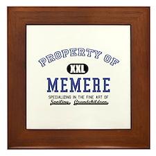 Property of Memere Framed Tile