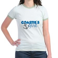 Coastie's Girl (Blue) T